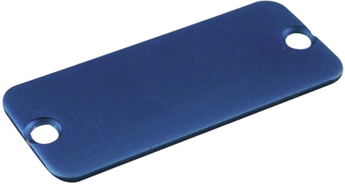 Púzdro Hammond Electronics 1455PALBU-10, hliník, modrá, 1 ks