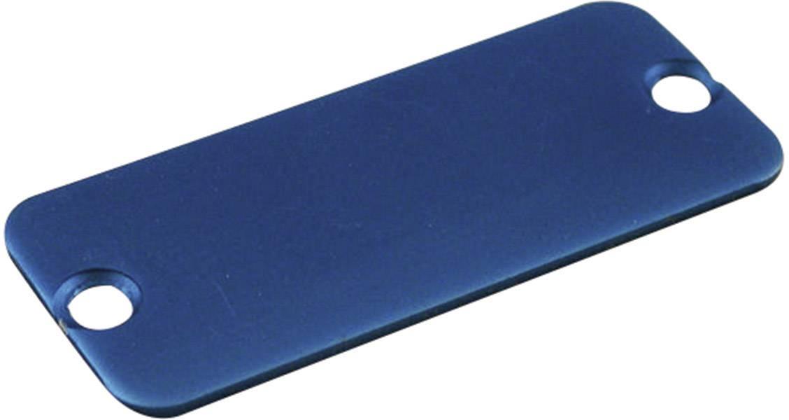 Koncový panel pouzdra Hammond Electronics 1455RALBU-10, modrá