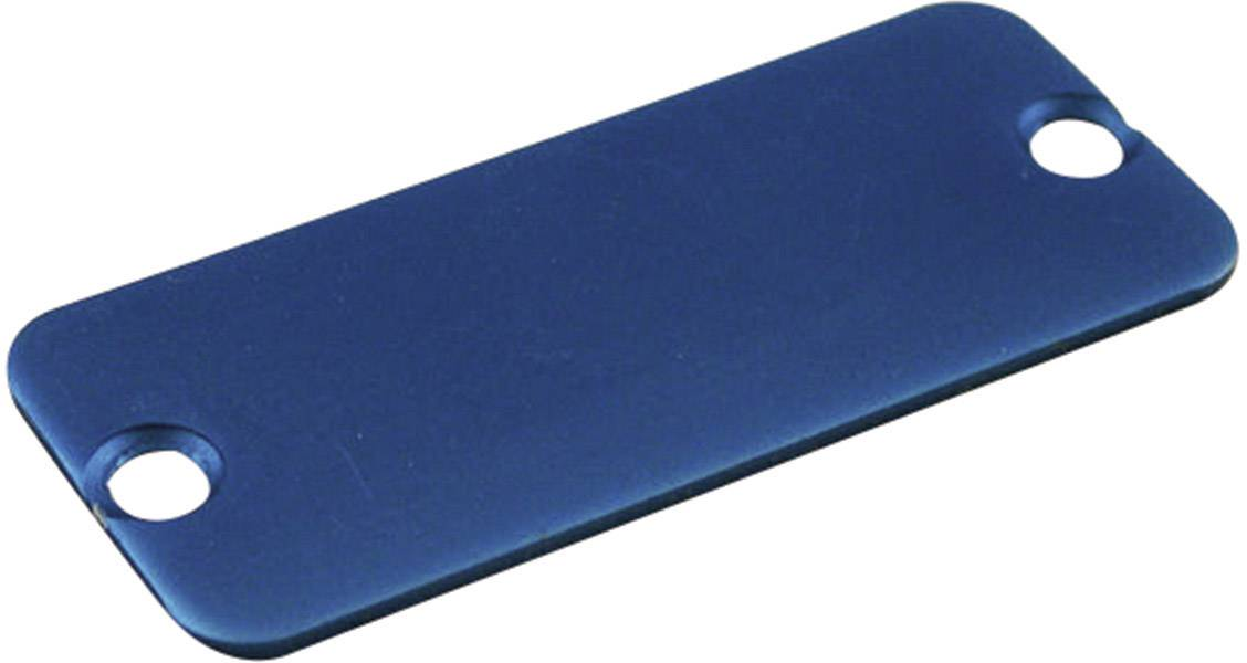 Púzdro Hammond Electronics 1455RALBU-10, hliník, modrá, 1 ks