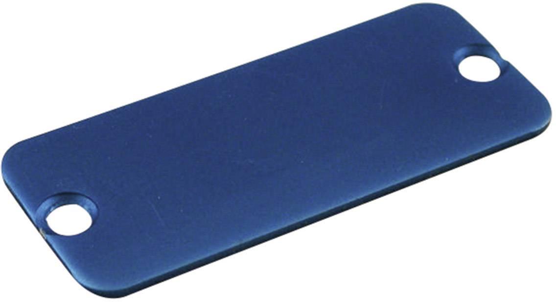 Koncový panel pouzdra Hammond Electronics 1455TALBU-10, modrá