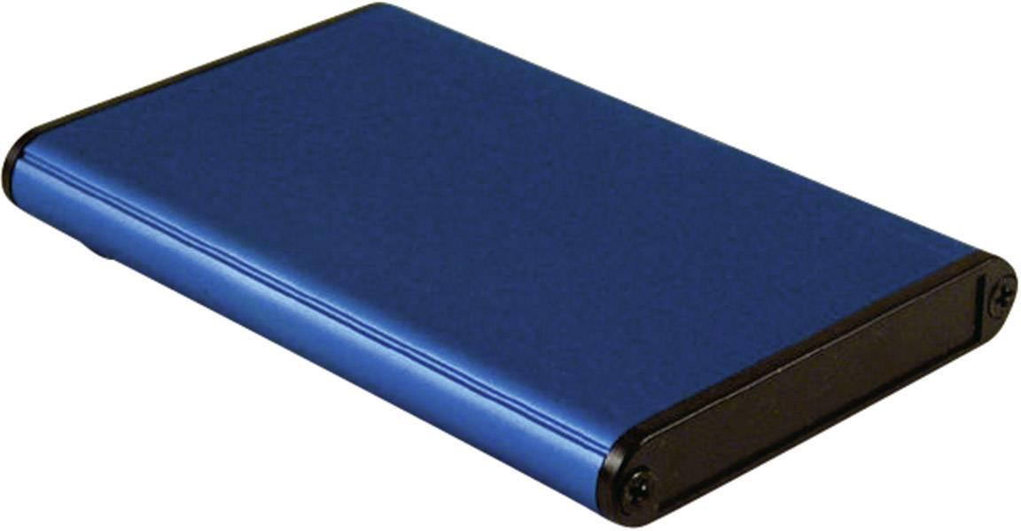 Univerzálne púzdro Hammond Electronics 1455A1002BU 1455A1002BU, 100 x 70 x 12 , hliník, modrá, 1 ks