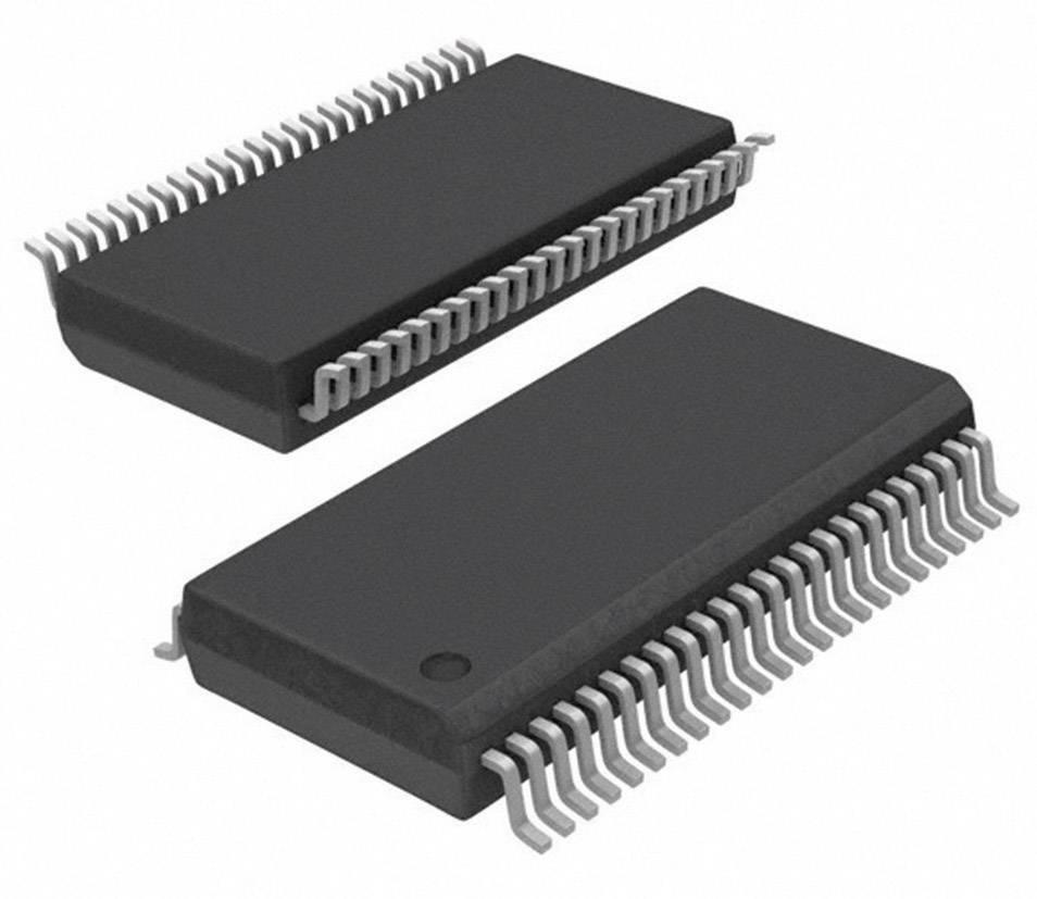 Logický IO - klopný obvod Texas Instruments CY74FCT16374CTPVC, standardní, Tri-State, neinvertující, BSSOP-48