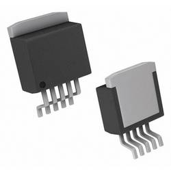 PMIC regulátor napětí - spínací DC/DC regulátor Texas Instruments LM2575HVSX-5.0/NOPB držák TO-263-5