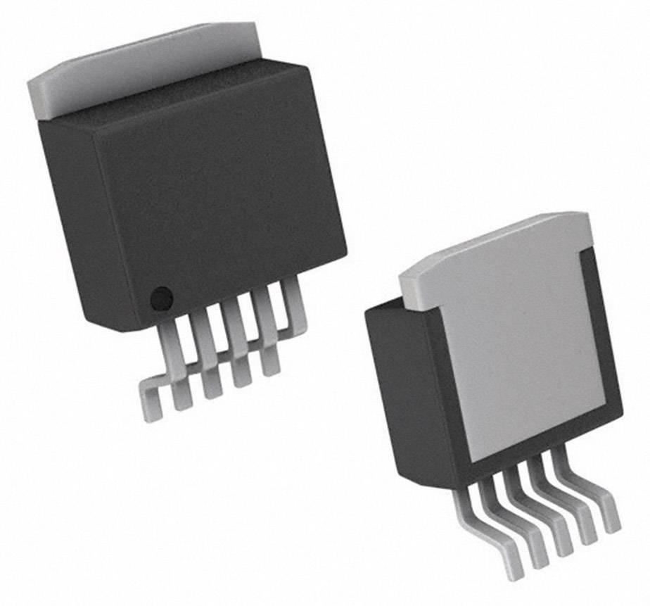 PMIC regulátor napětí - spínací DC/DC regulátor Texas Instruments LM2596S-ADJ/NOPB držák TO-263-5