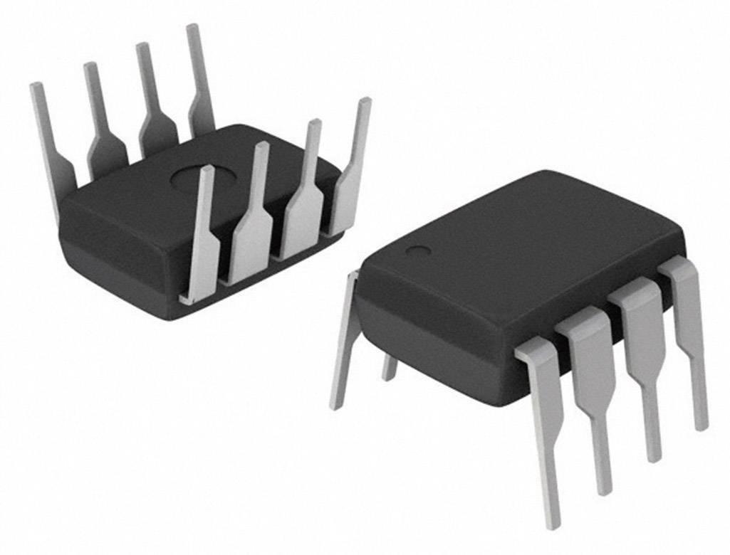 Lineární IO operační zesilovač Texas Instruments LM386N-4/NOPB, 1kanálový (mono) , třída AB, PDIP-8