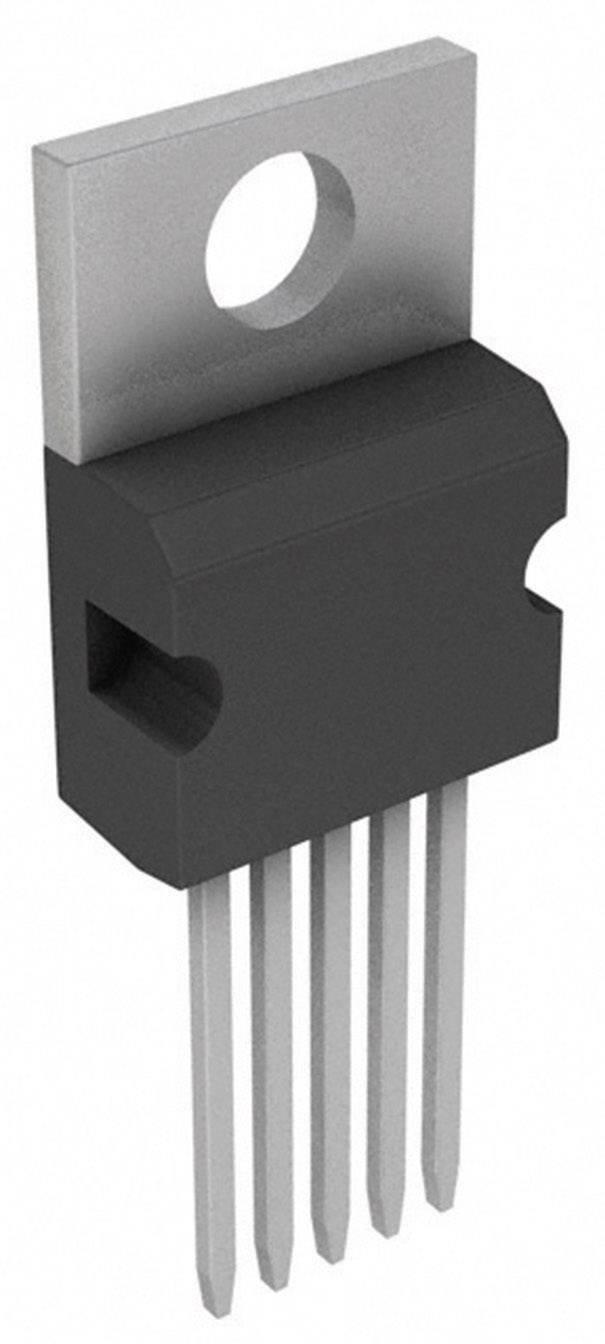 Lineární IO - teplotní senzor a měnič Microchip Technology TC74A0-3.3VAT, TO-220-5