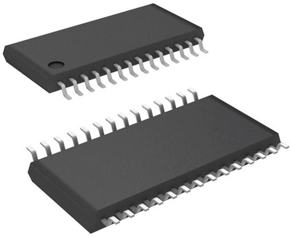 PMIC řízení motoru, regulátory Texas Instruments DRV8824PWP, poloviční můstek, Schritt/Richtung, HTSSOP-28