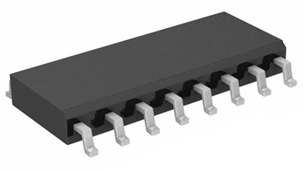 IO rozhraní - rozšíření E-A Texas Instruments PCF8574DW, POR, I²C, 100 kHz, SOIC-16