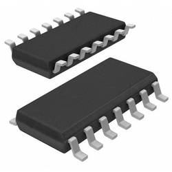 Logický IO - brána a invertor Nexperia 74HC00PW,112, TQFP-16-EP
