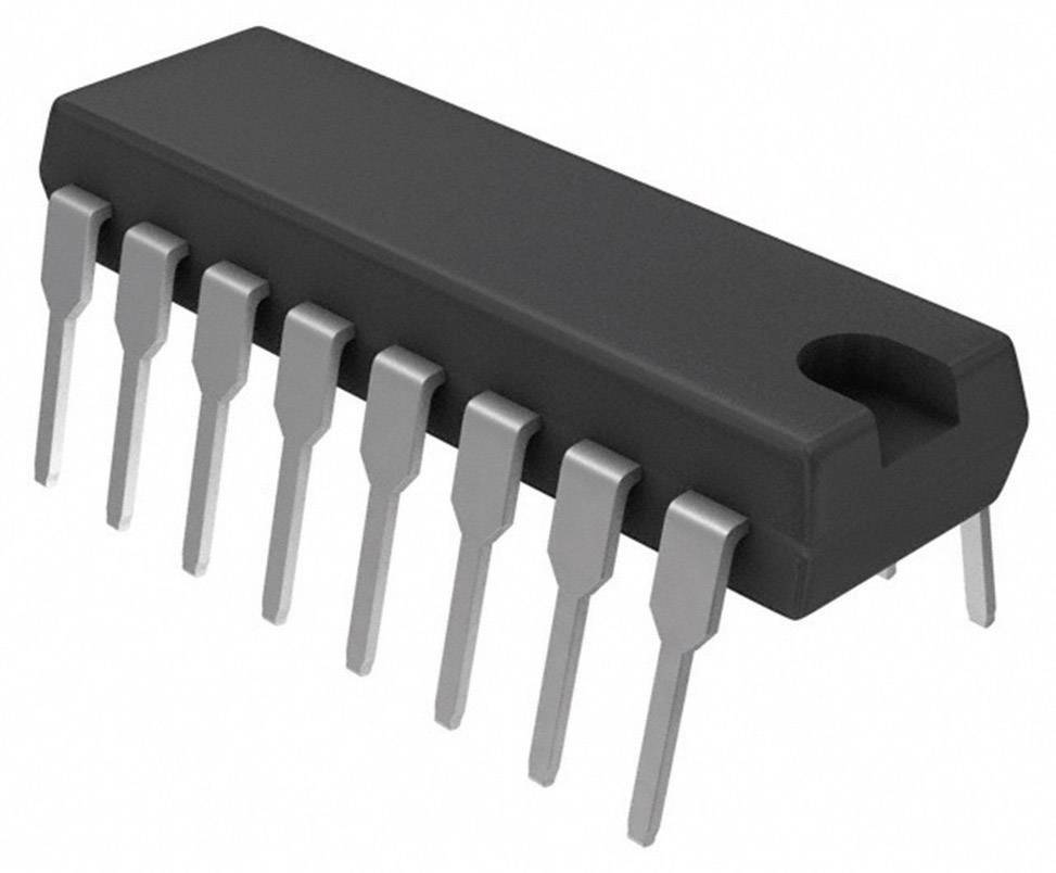 Logický IO - čítač Texas Instruments SN74LS161AN, binární čítač, 74LS, kladná hrana, 25 MHz, 5.25 VPDIP-16