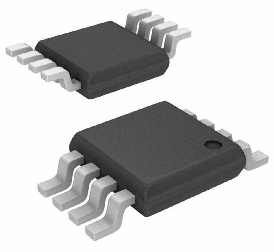 Lineární IO operační zesilovač s video bufferem Texas Instruments LM4819MM/NOPB, třída AB, VSSOP-8