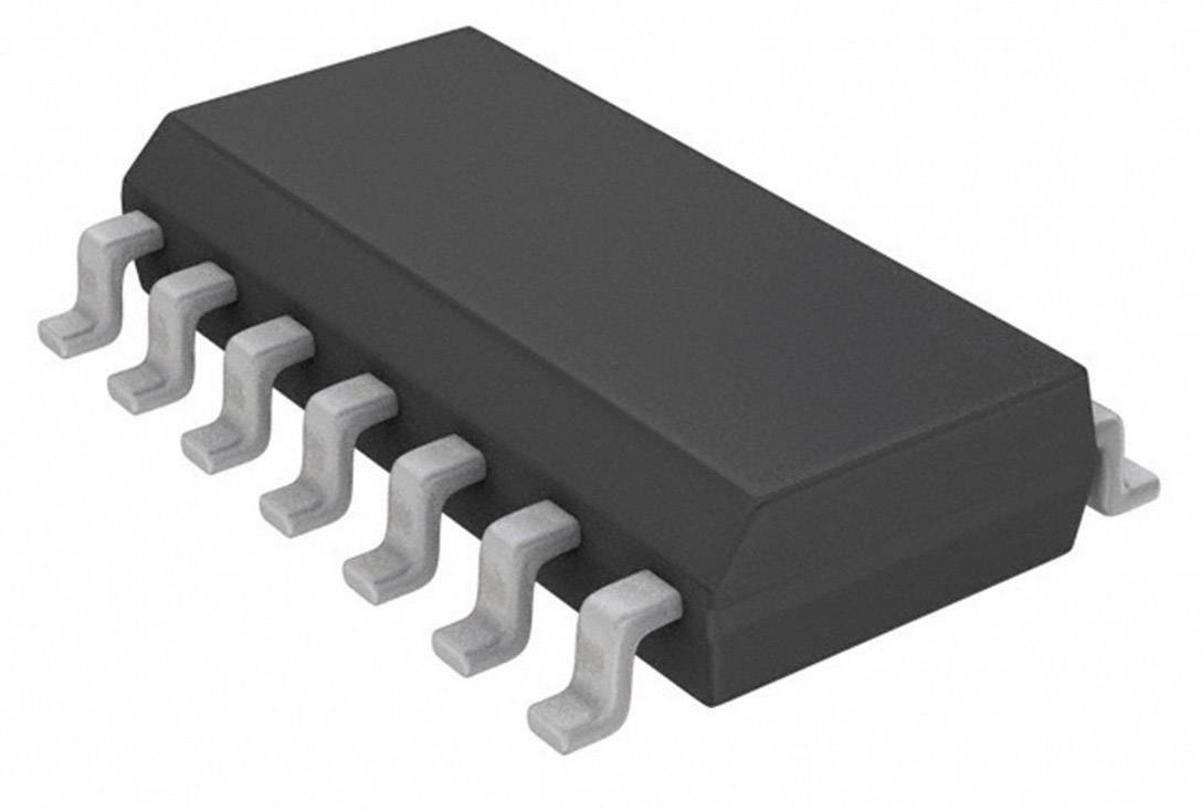 Logický IO - brána a invertor Nexperia 74HC02D,652, SO-14