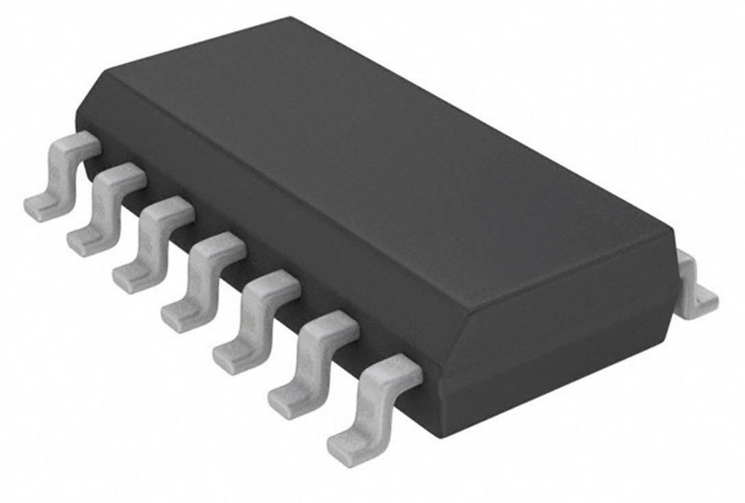 Logický IO - klopný obvod Texas Instruments CD74HC74M, Nastavit (přednastavení) a zpětně nastavit , diferenciální, SOIC-14
