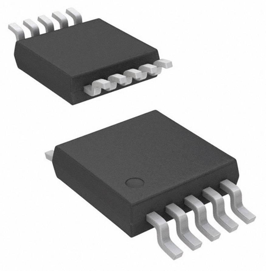 IO převodník/přenašeč napětí a proudu Texas Instruments XTR111AIDGQT napětí, 7 V, 44 V, 550 µA, MSOP-10-PowerPad
