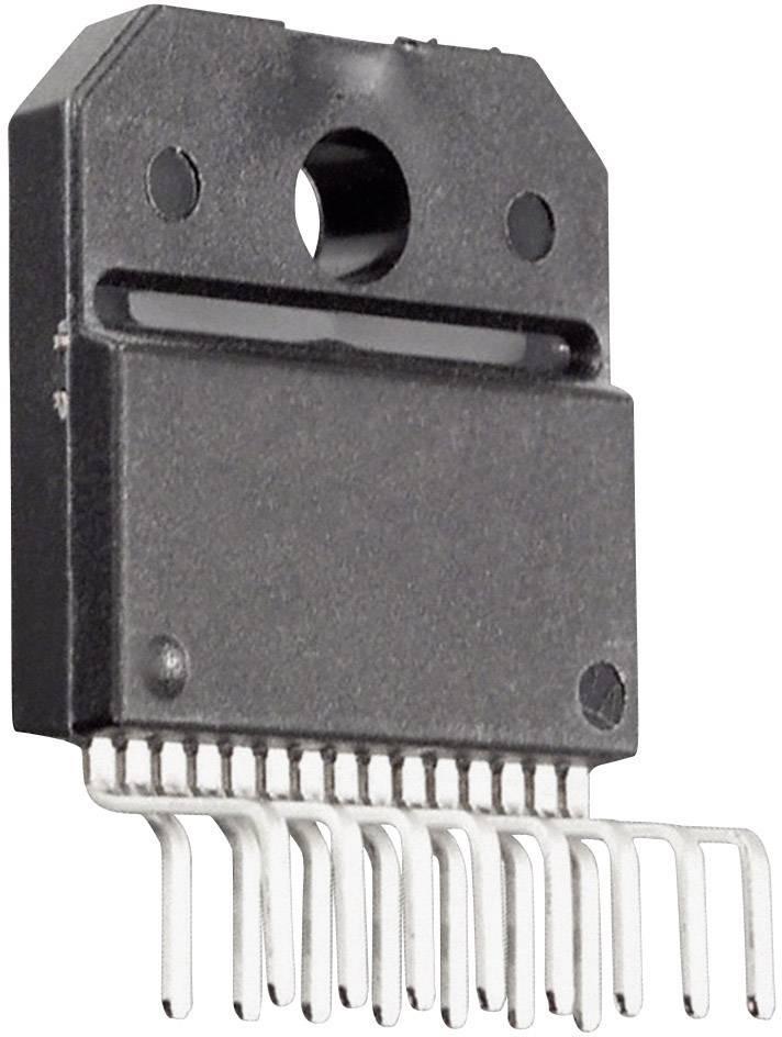 Lineární IO operační zesilovač Texas Instruments LM4766T/NOPB, 2kanálový (stereo), třída AB, TO-220-15