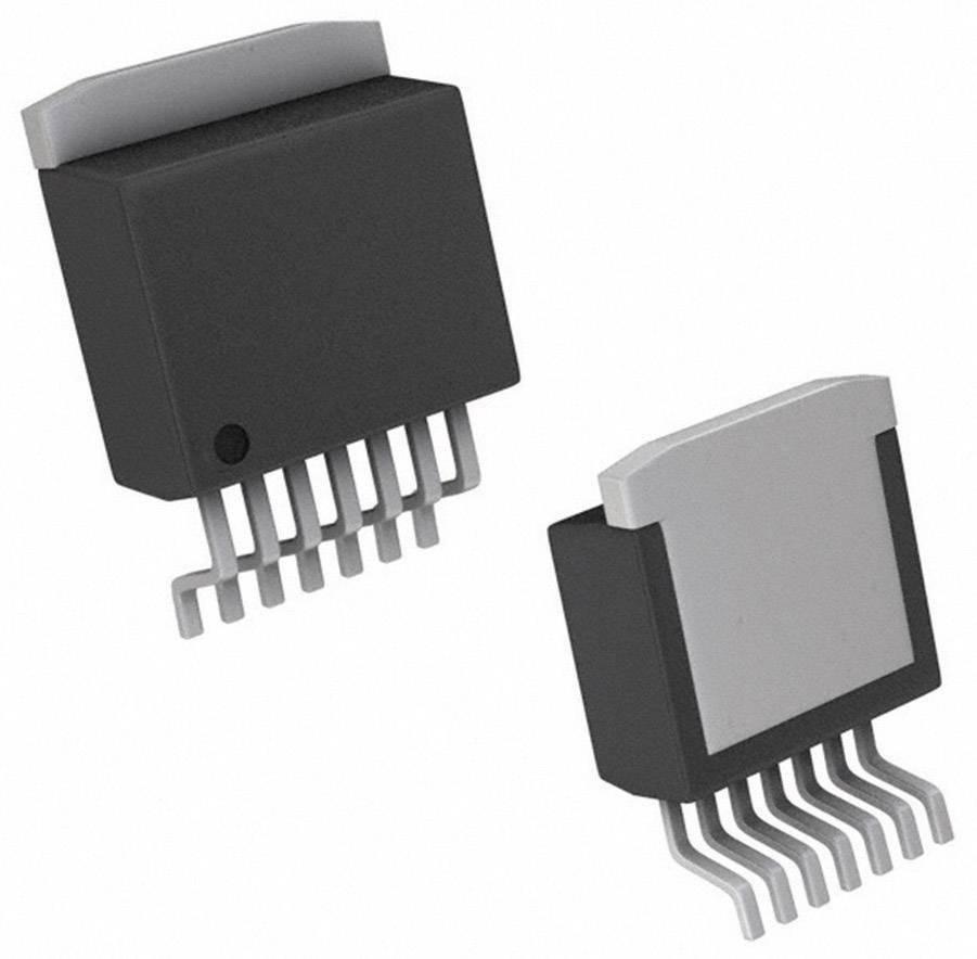 PMIC regulátor napětí - spínací DC/DC regulátor Texas Instruments LM2593HVSX-ADJ/NOPB držák TO-263-7
