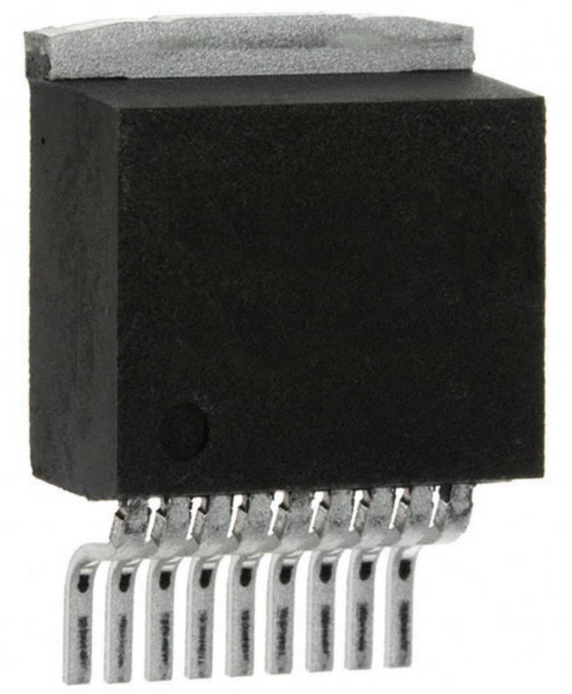 Lineární IO operační zesilovač s video bufferem Texas Instruments LM4950TS/NOPB, třída AB, TO-263-9