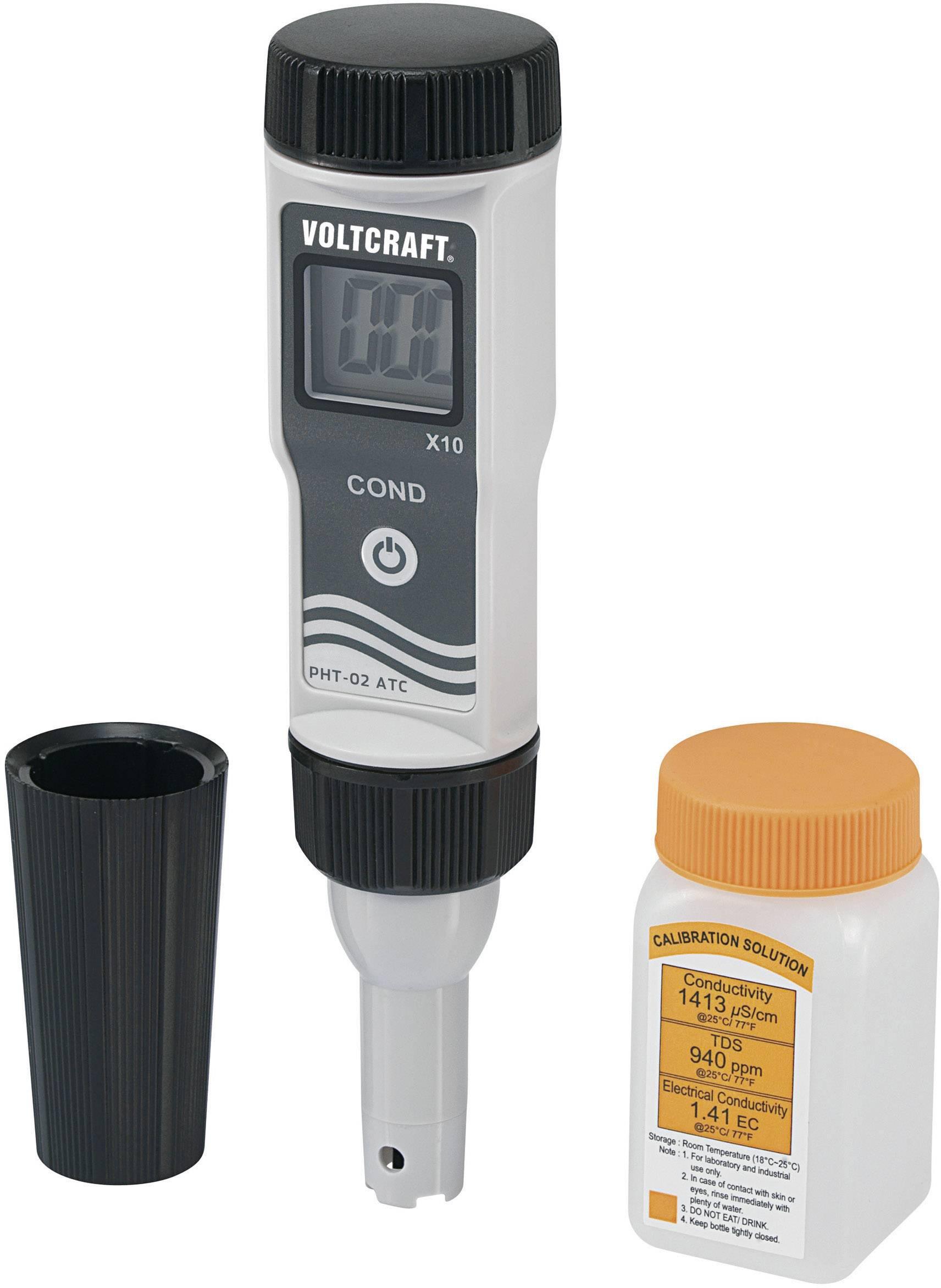 Měřič vodivosti Voltcraft LWT-03 ATC, 0-19999 uS/cm