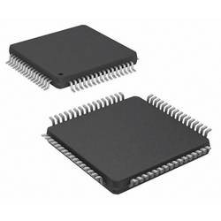 Mikrořadič Microchip Technology PIC32MX664F128H-I/PT, TQFP-64 (10x10), 32-Bit, 80 MHz, I/O 53