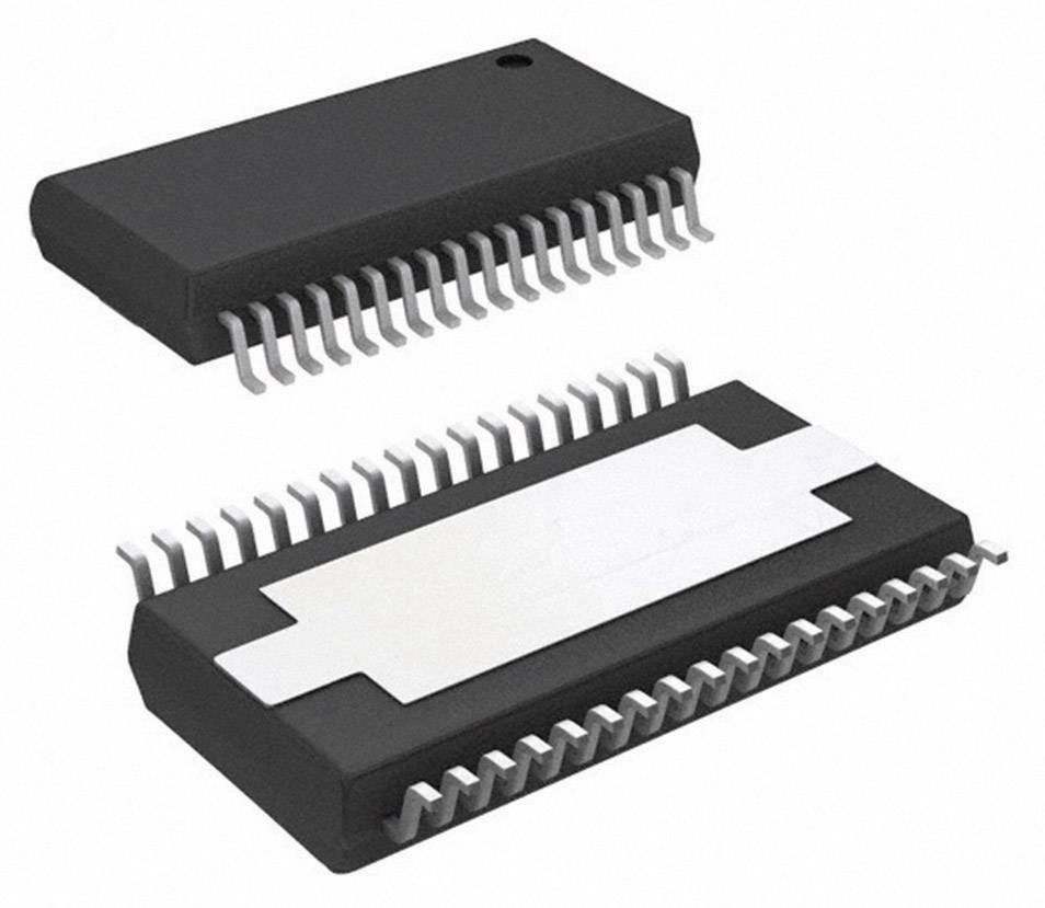 Lineární IO operační zesilovač s video bufferem Texas Instruments TAS5142DKD, 2kanálový (stereo), třída D, HSSOP-36