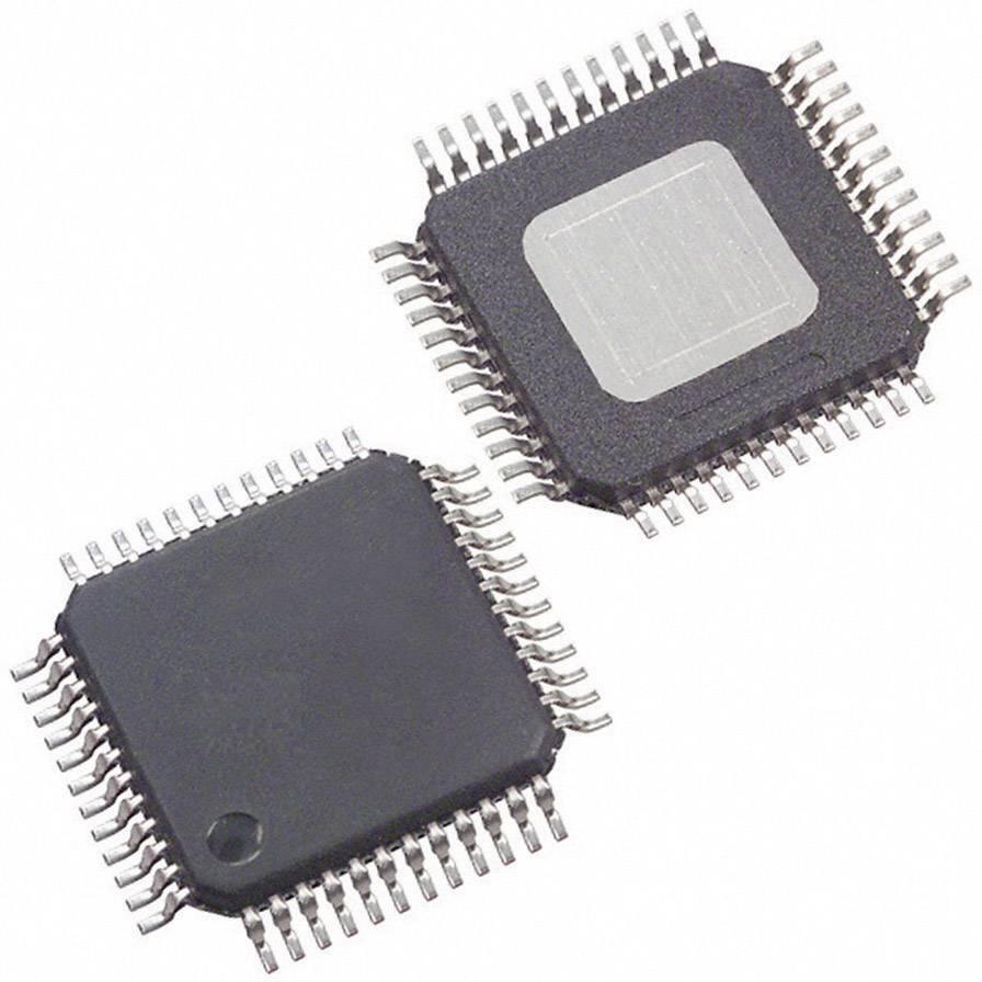 Lineární IO operační zesilovač s video bufferem Texas Instruments TAS5717PHPR, třída D, HTQFP-48 (7x7)
