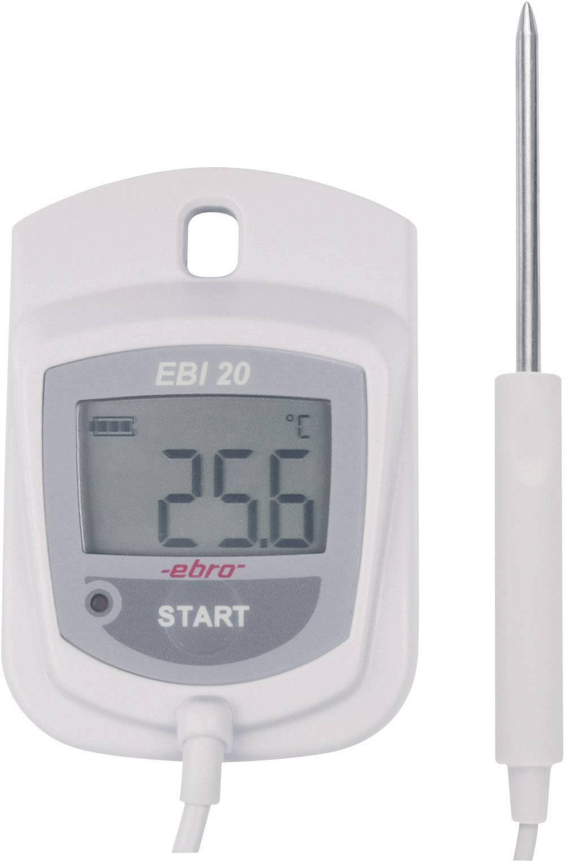 Teplotný datalogger ebro EBI 20-TE1 sada, -30 až +60 °C, 1-kanálový