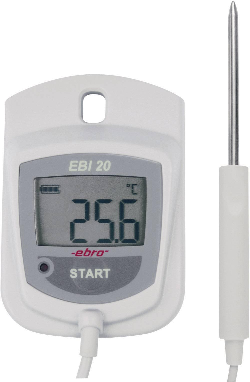 Teplotný datalogger ebro EBI 20-TF, 0 až +100 °C, 1-kanálový