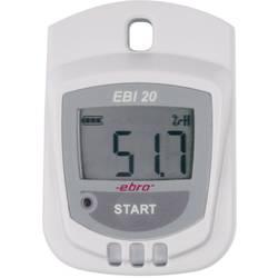 Multifunkční datalogger ebro EBI 20-TH1 Měrné veličiny vlhkost vzduchu, teplota -30 až +60 °C 0 až 100 % r. Kalibrováno dle DAkkS
