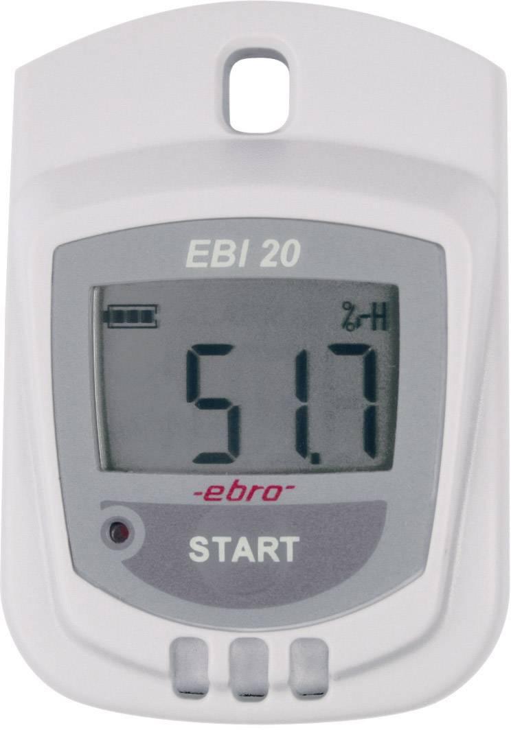 Teploměr a vlhkoměr s dataloggerem ebro EBI 20-TH1