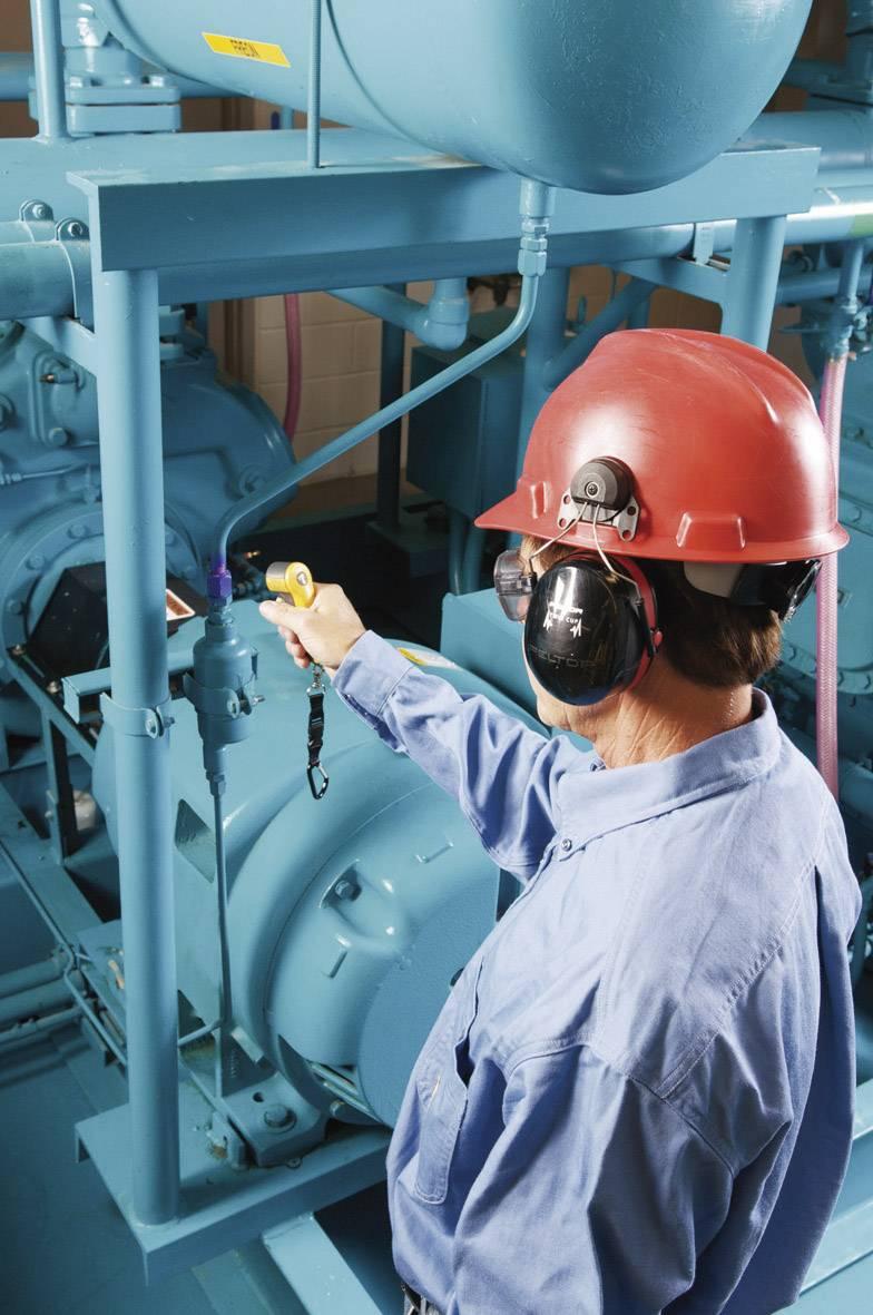 Vreckové svietidlo Fluke RLD2, detekcia úniku chladiacej kvapaliny