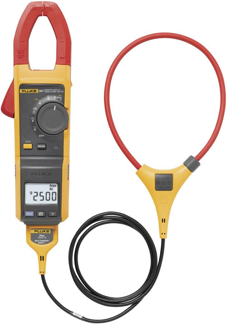 Klešťový ampérmetr Fluke 381 AC/DC