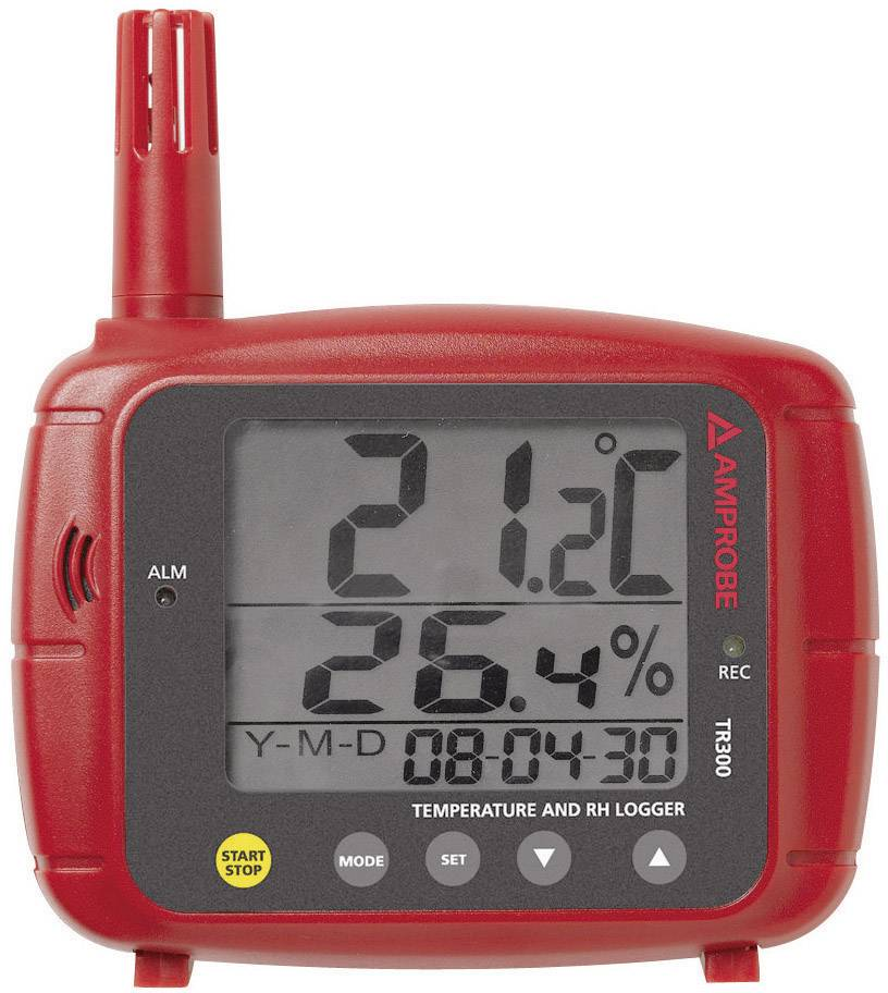 Teplotný/vlhkostný datalogger Beha Amprobe TR-300, -20 až +70 °C
