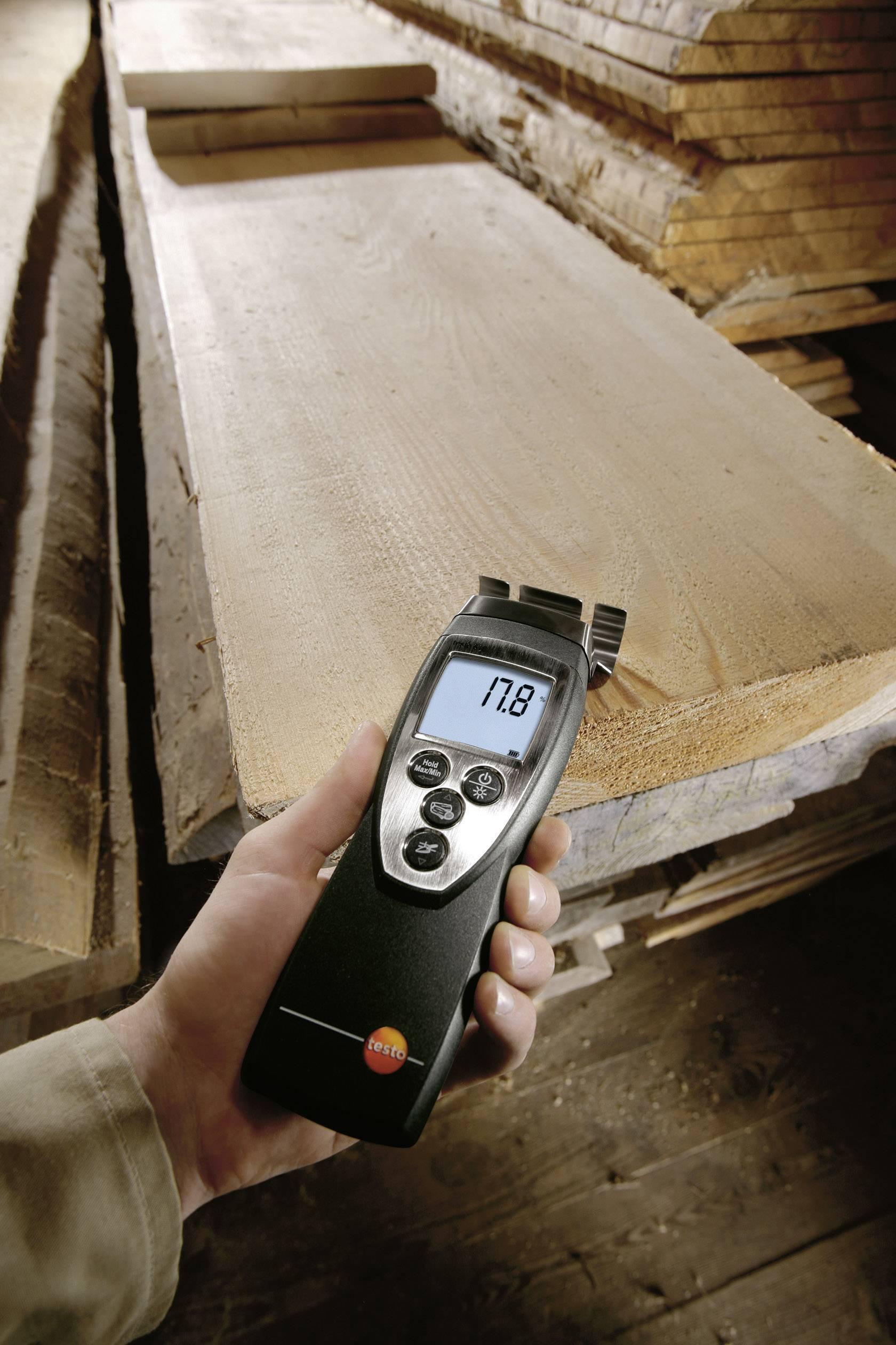 Merač vlhkosti dreva a stavebných materiálov testo 616