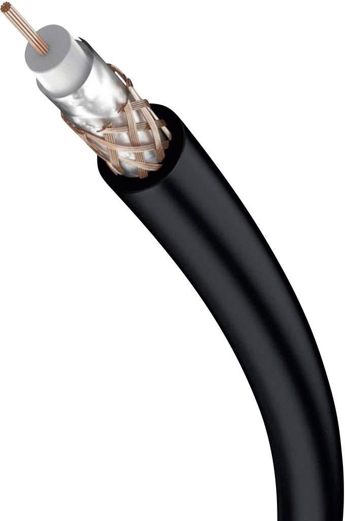 Kabel 1x cinch vidlice ⇒ 1x cinch vidlice, 1,5 m, černý, Inakustik
