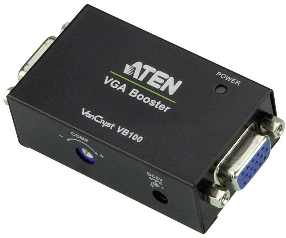 VGA extender (prodloužení) přes signálové vedení, ATEN VB100-AT-G, 70 m, N/A