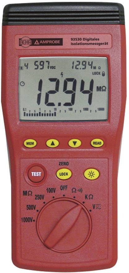 Tester izolácie Beha Amprobe 93530-D, CAT III, 600 V, 3454416