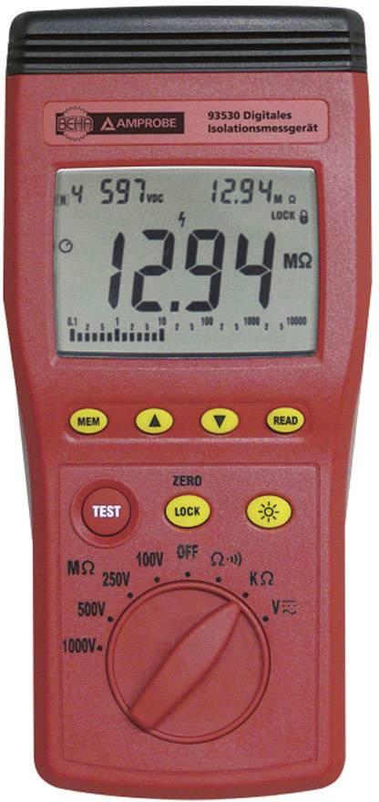 Tester izolací Beha Amprobe 93530-D, CAT III 600 V, Kalibrováno dle ISO