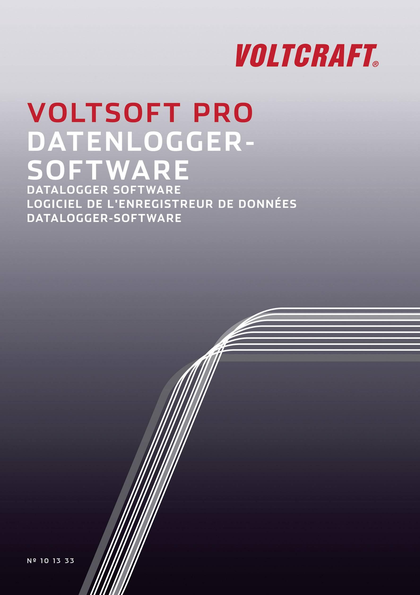 Software Voltcraft VoltSoft PRO, pro datalogger