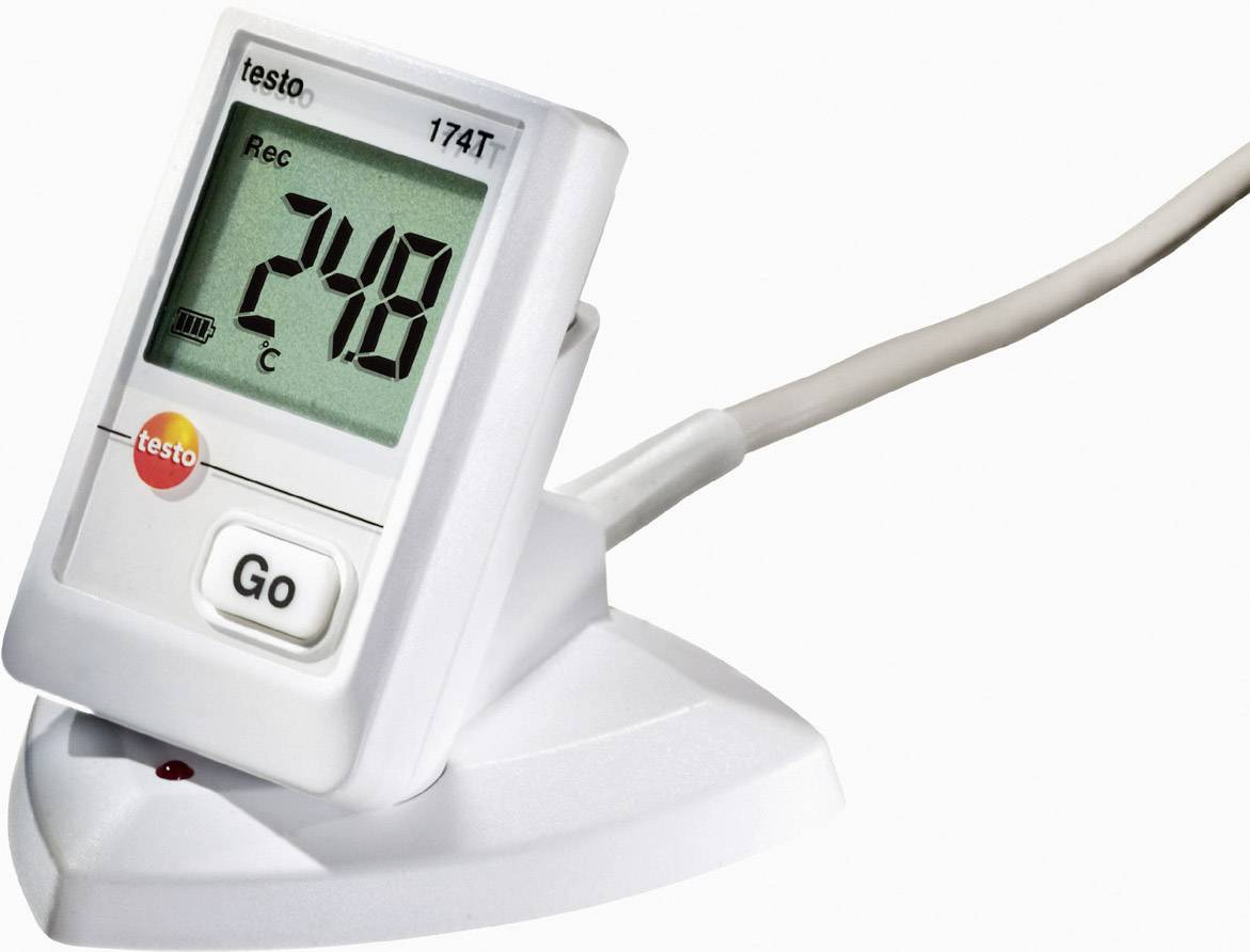 Teplotný datalogger testo 174T sada, -30 až +70 °C