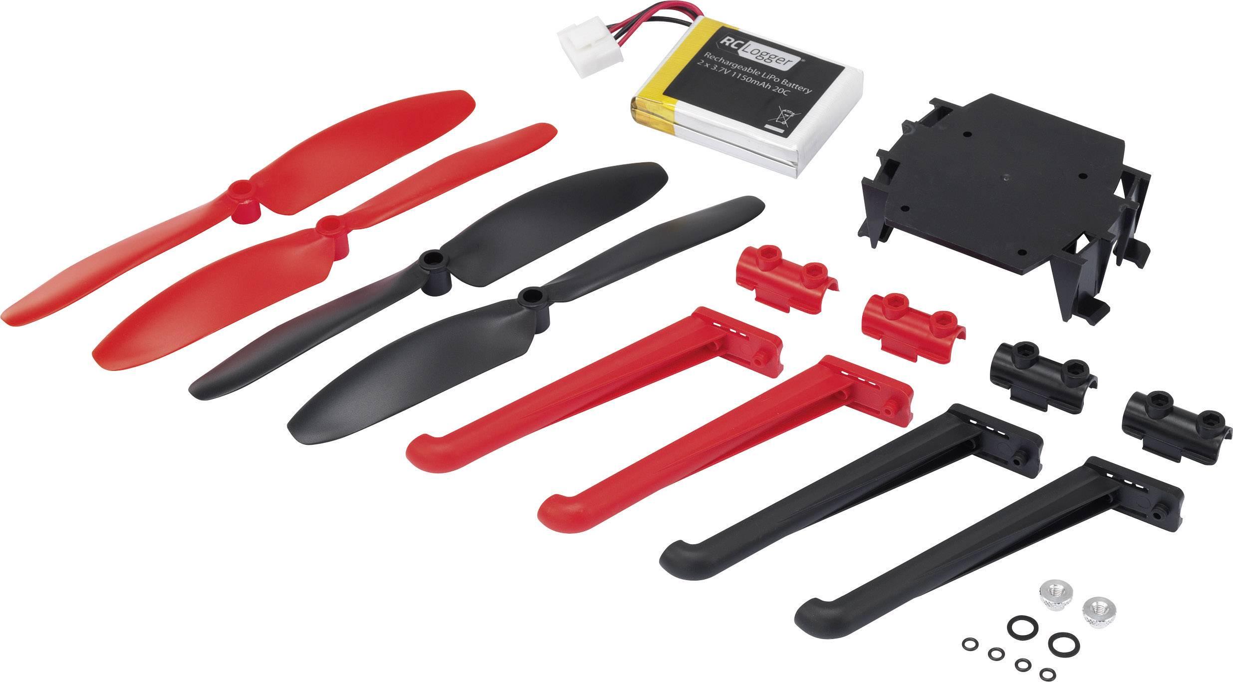 Sada pro RC Logger Xtreme 89064RC, akupack, vrtule a držák kamery