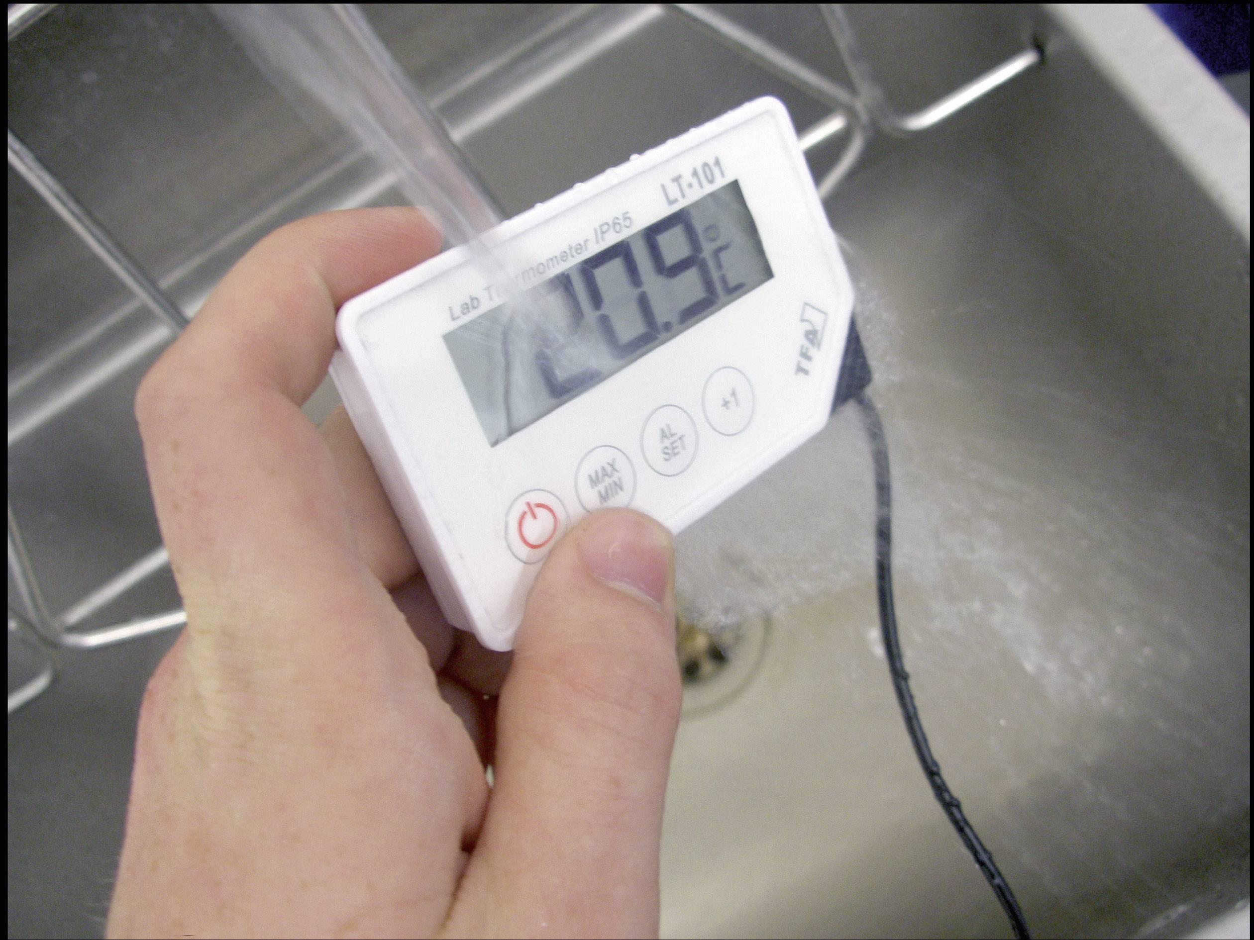 Vpichovací teplomer TFA LT-101, -40 do +200 °C, druh čidla NTC