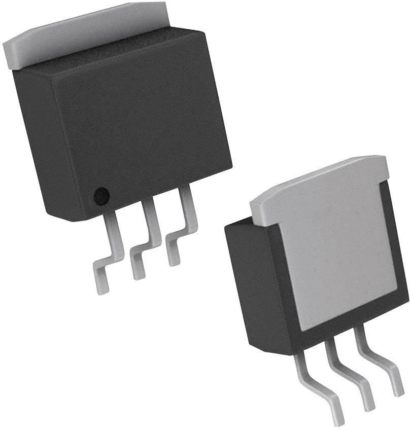 Tranzistor MOSFET Nexperia BUK7611-55A,118, TO-263-3, Kanálov 1, 55 V, 166 W