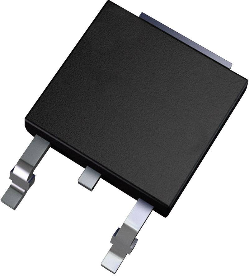 MOSFET Fairchild Semiconductor N kanál N-CH 600V FQD1N60CTM TO-252-3 FSC