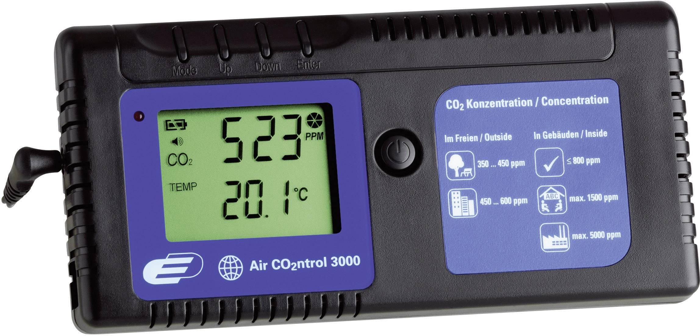 Prístroj na meranie CO2, TFA AirControl 3000
