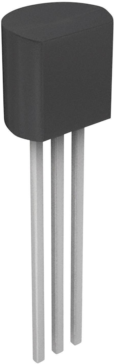 NPN tranzistor (BJT) - Single ON Semiconductor BC548CTA, TO-92-3, Kanálov 1, 30 V