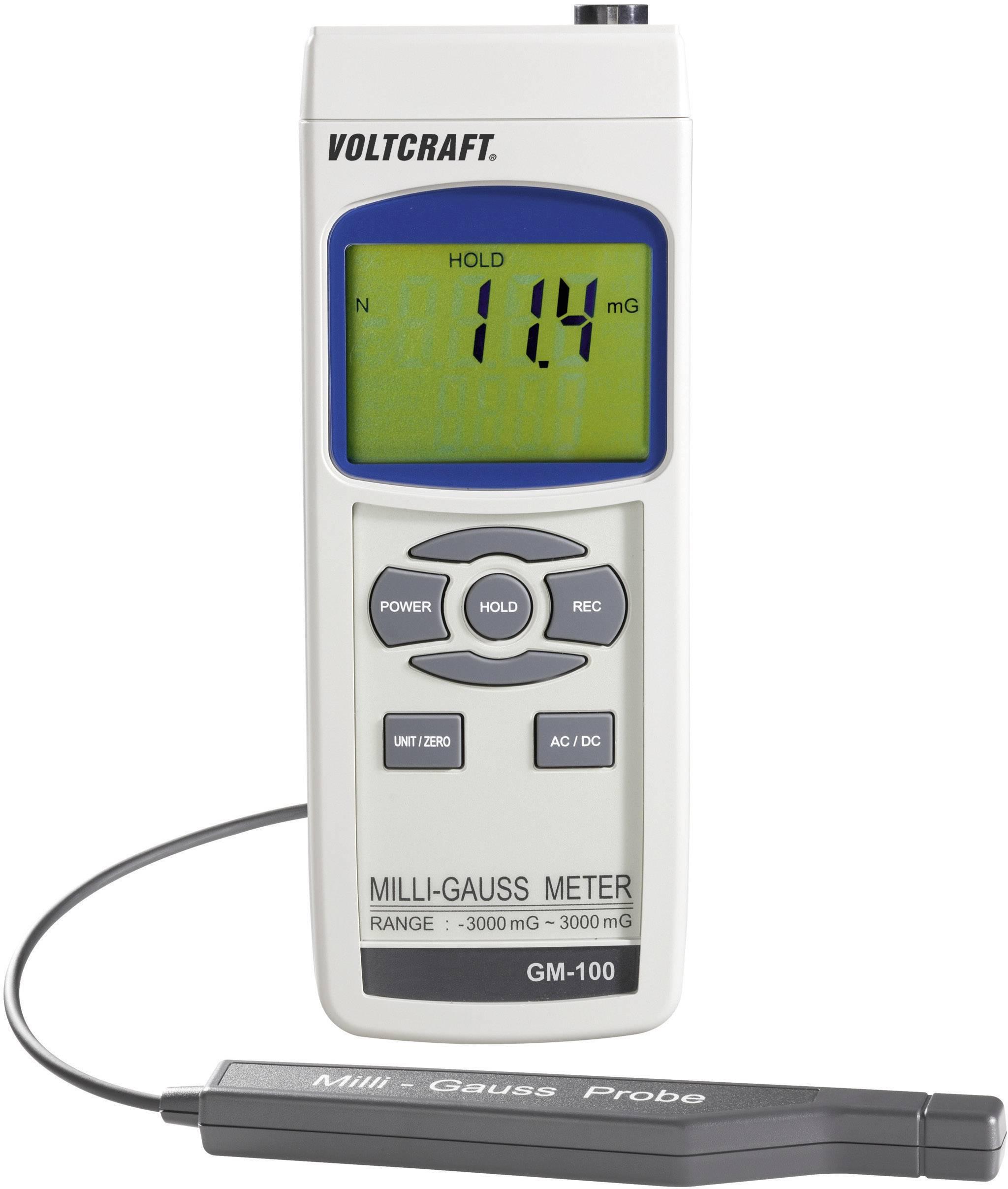 Prístroj na meranie magnetického poľa VOLTCRAFT 101370