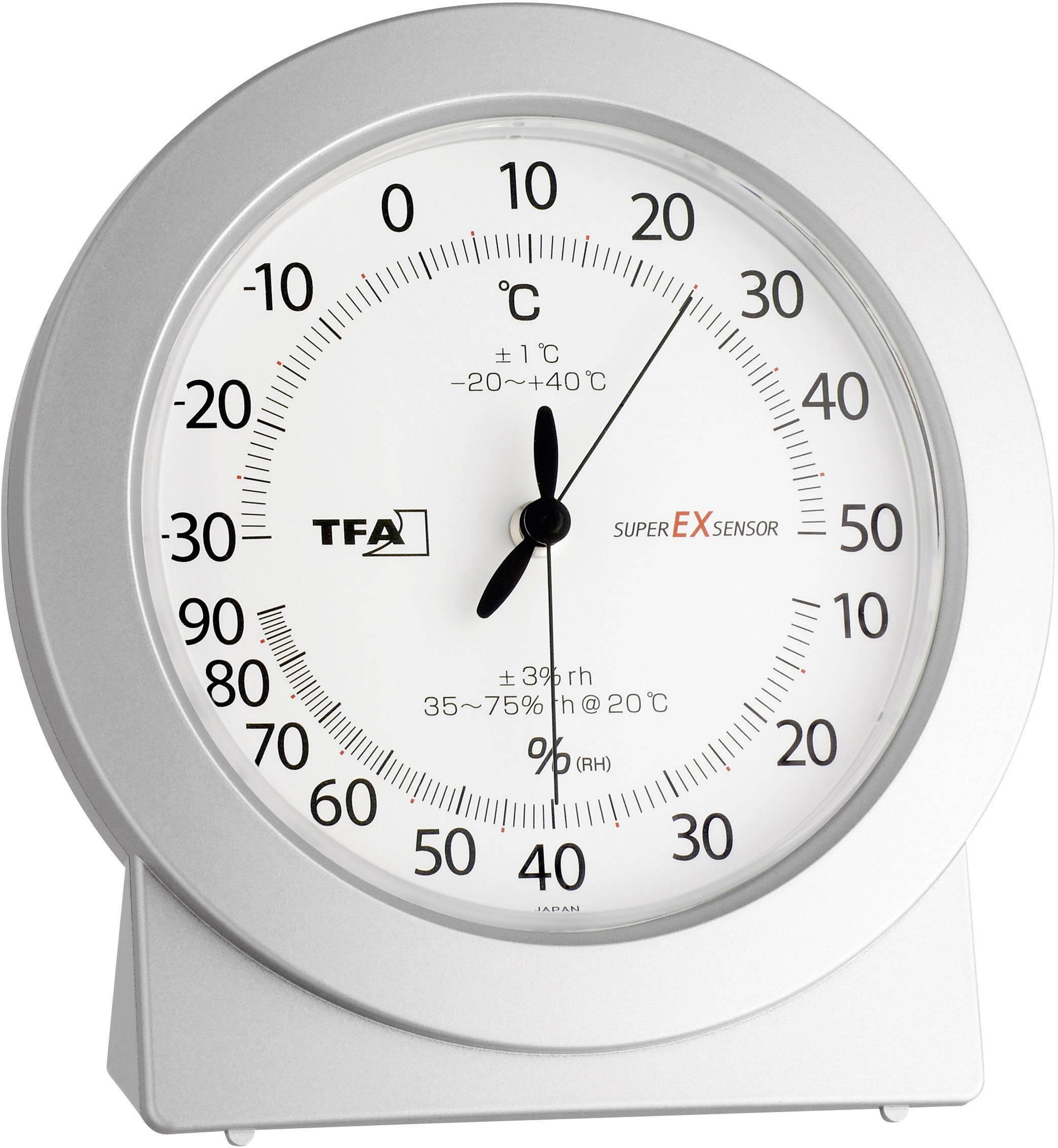 Analogový teploměr/vlhkoměr TFA 45.2020