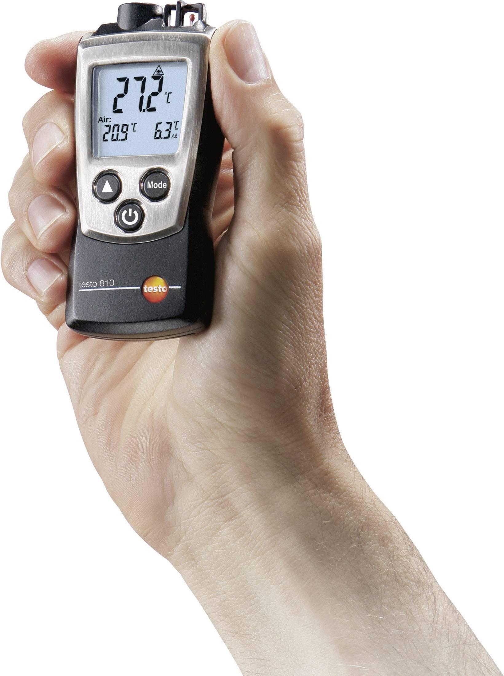IR teplomer testo 810, -10 až +50 °C, IR: -30 až +300 °C