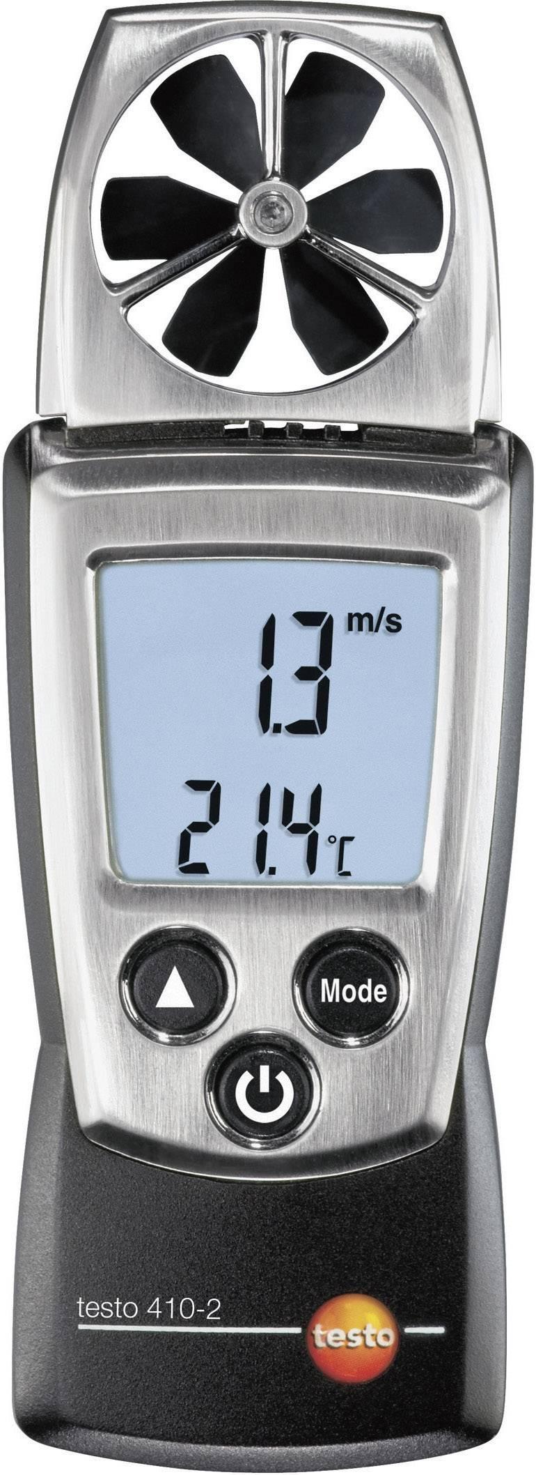 Anemometer testo 410-2, 0.4 - 20 m/s