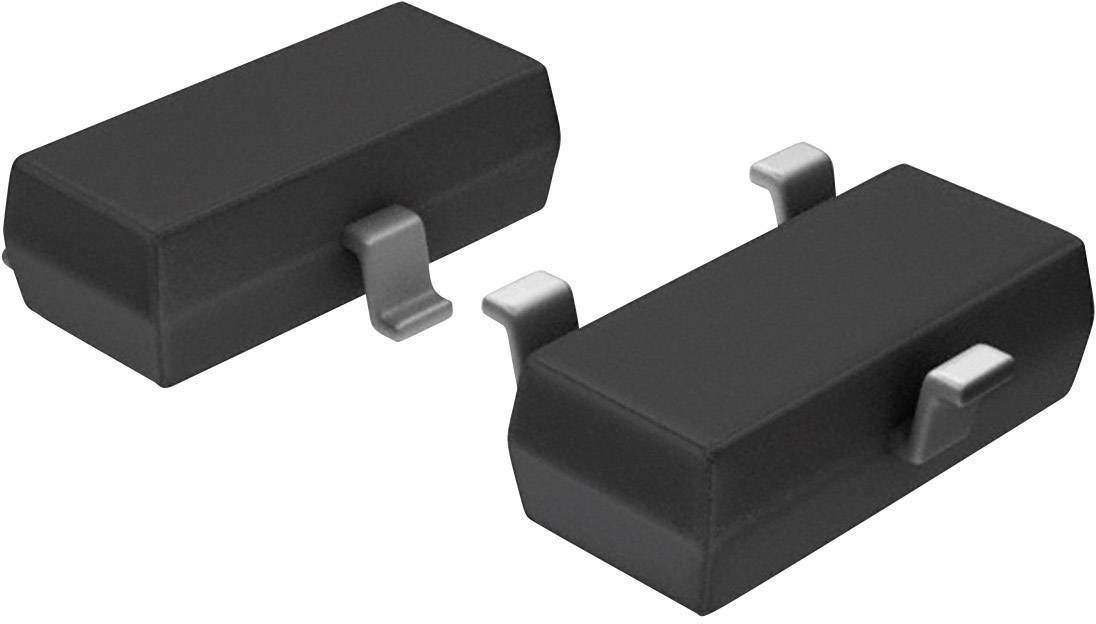 PNP RF tranzistor (BJT) NXP Semiconductors BFT92,215, TO-236-3 , Kanálů 1, 15 V